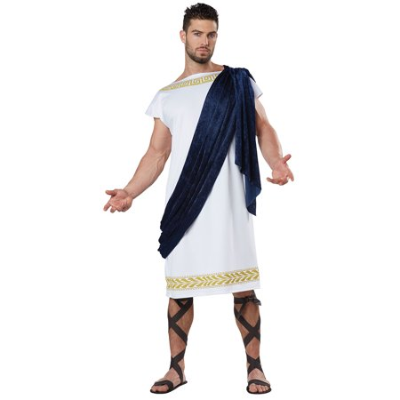 Adult Grecian Toga Halloween Costume
