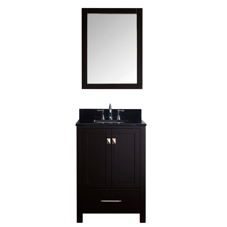 """Caroline Avenue 24"""" Single Bathroom Vanity in Espresso ..."""