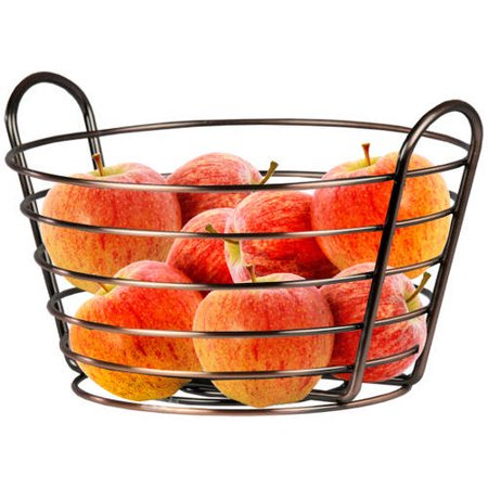 Home Basics Oil Rubbed Fruit Basket