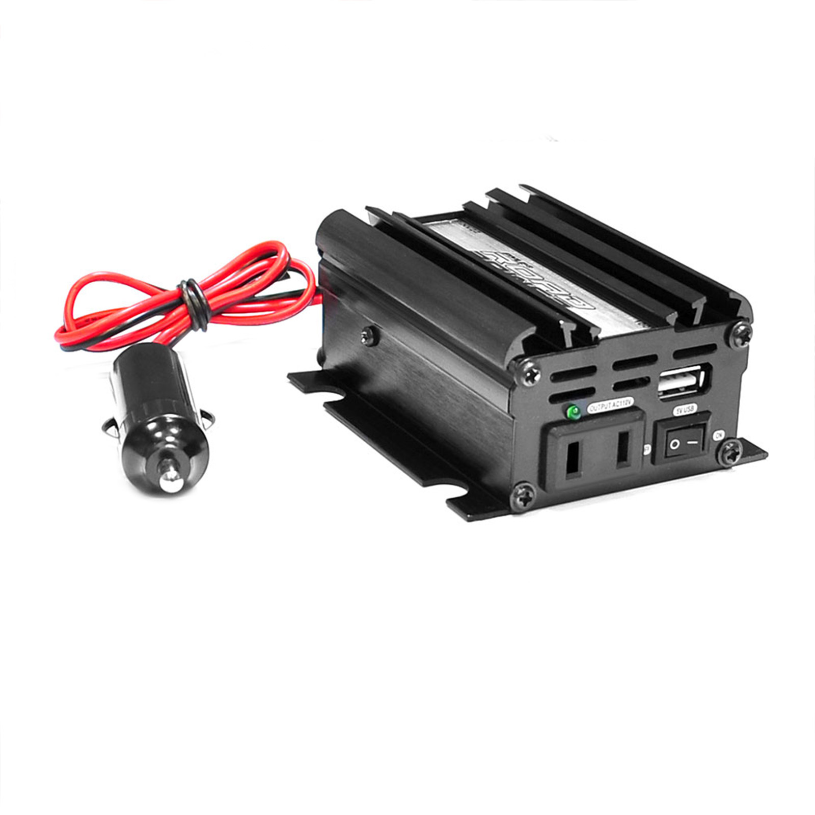 Pyle Plug in Car 100 Watt 12v DC to 115 Volt AC Power Inverter