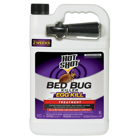 Hot Shot Bed Bug Killer with Egg Kill, Ready-to-Use, (Best Way To Use Diatomaceous Earth For Bed Bugs)