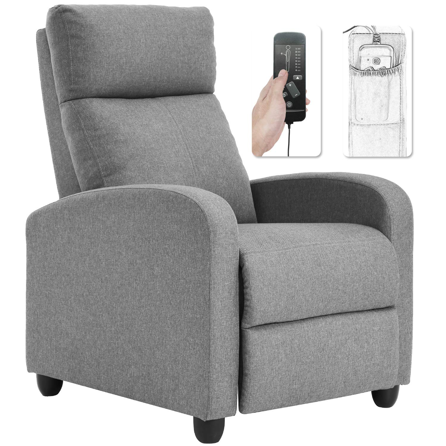 Recliner Chair For Living Room Winback Single Sofa Massage