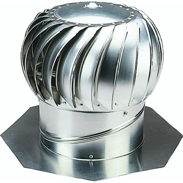 Ventamatic 14 Standard Internally Braced Galvanized Wind Turbine