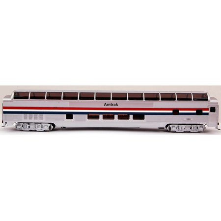 Bachmann HO Scale Train Passenger Car 85' Budd Full Dome Amtrak Phase II