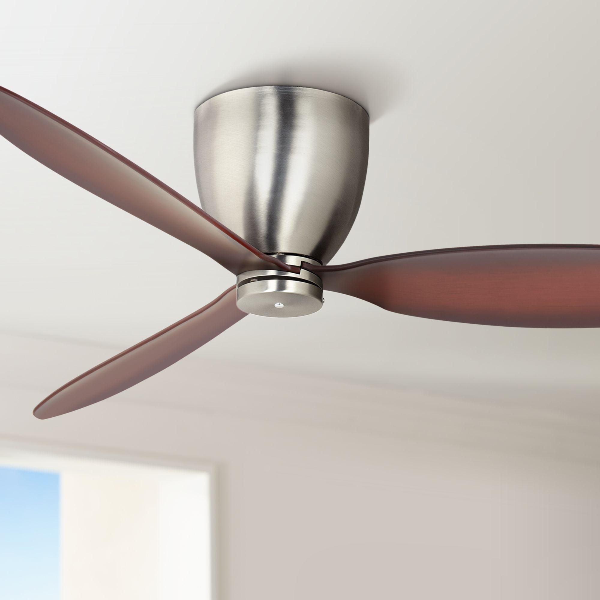 "52"" Casa Vieja Modern Hugger Ceiling Fan with Wall Control ..."