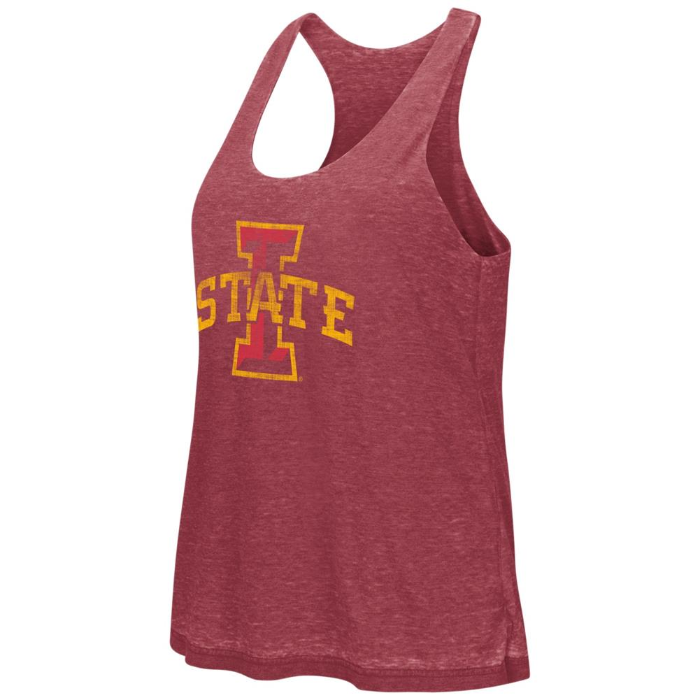 Iowa State Cyclones Tank Top Reversible Red Ross Racerback Tank