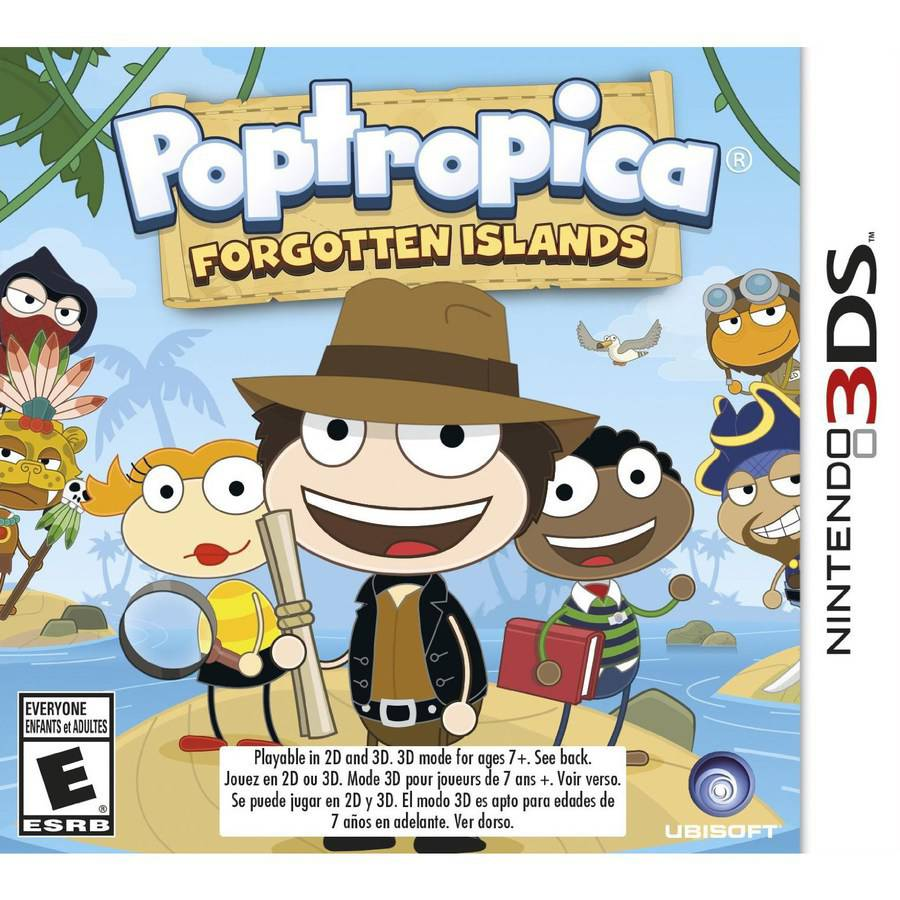 Poptropica Forgotten Islands, Ubisoft, Nintendo 3DS, 887256301255
