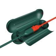 Westinghouse EZ Extension Cord Protection Box - Secures & Protects Outdoor Cords