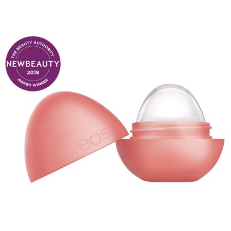 eos Crystal Lip Balm, Melon Blossom, 100% Wax Free with 5 Nourishing Natural Oils , 0.25oz.