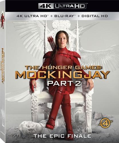 The Hunger Games: Mockingjay - Part 2 (4K Ultra HD + Blu-ray + DVD)