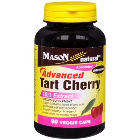 6 Pack - Mason Natural Advanced Tart Cherry 10:1 Veggie Caps 60 ea