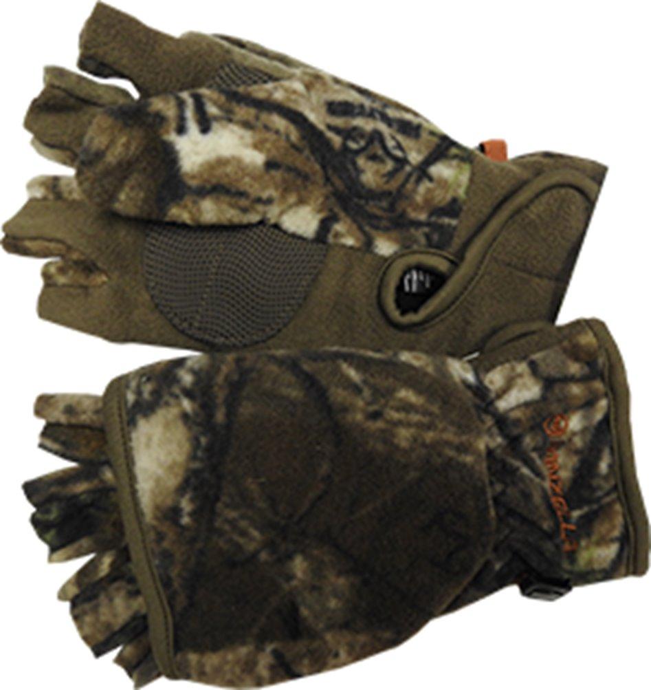 Manzella Womens Bowhunter Convertible Glove Realtree Xtra Camo Large by MANZELLA PRODUCTIONS INC