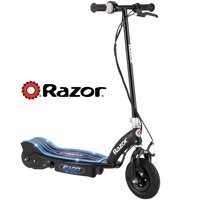 Razor E100 Electric-Powered Glow Electric Scooter with Rear Wheel Drive, Black
