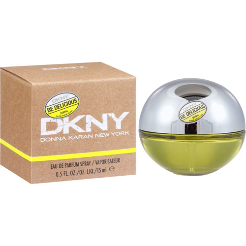DKNY Be Delicious, 100% Pure New York Eau de Parfum Spray, 0.5 fl oz