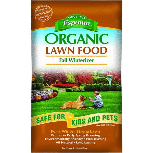 Espoma Organic Winterizer Fall Fertilizer