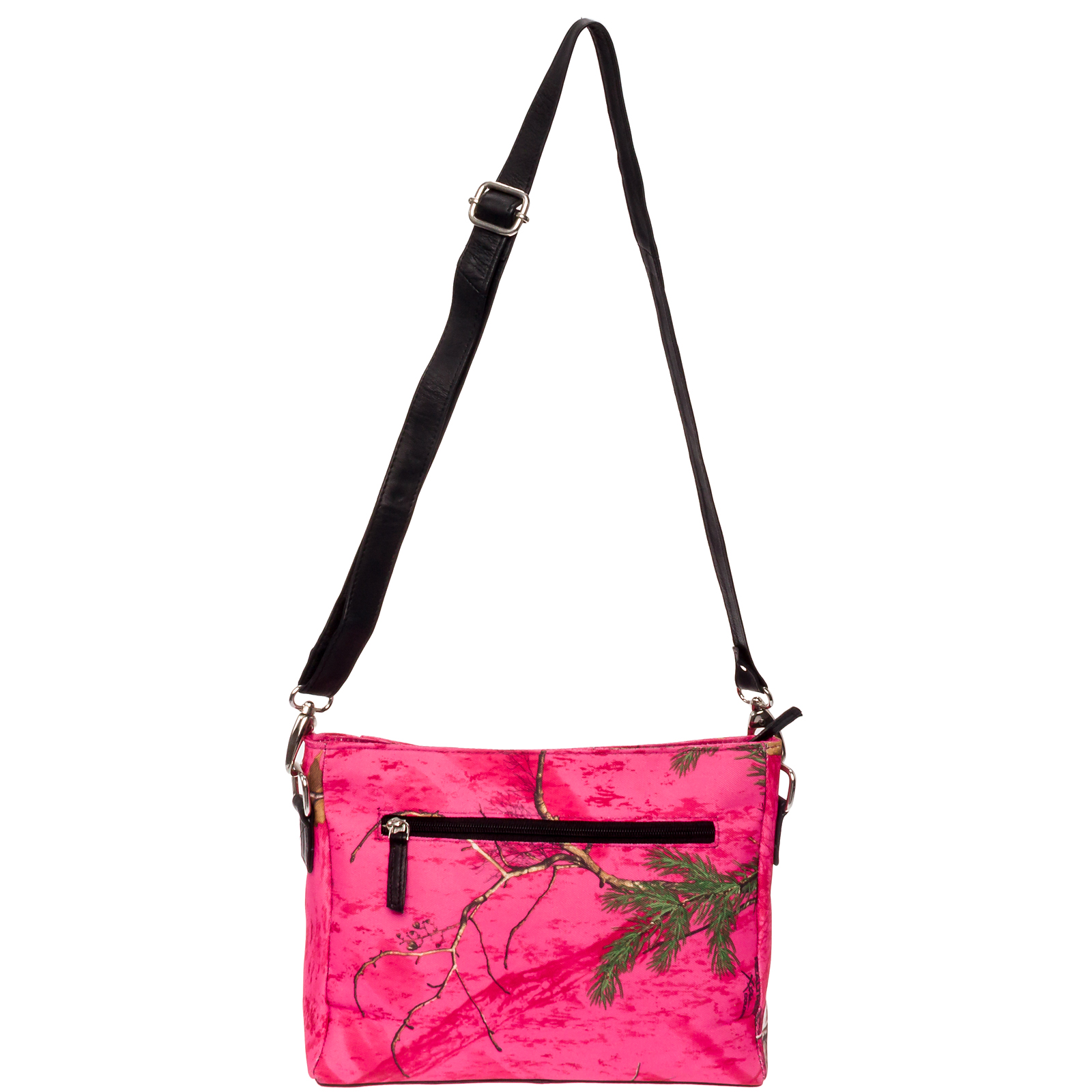 Silver Lilly Women's RealTree Concealed Carry Gun Handbag Purse CCW Crossbody