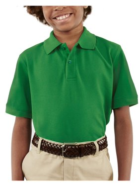 George Boys School Uniform Short Sleeve Pique Polo Shirt (Little Boys & Big Boys)