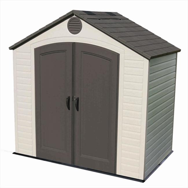 Lifetime Products 6418 8 x 5 ft Storage Shed Walmart