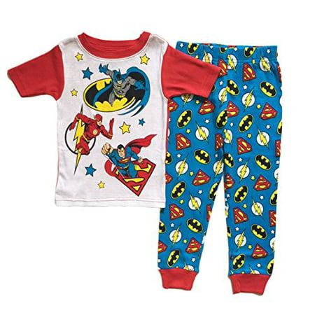 Ace Justice League (Justice League Little Boys Toddler 2 Pc Cotton Pajama Set)