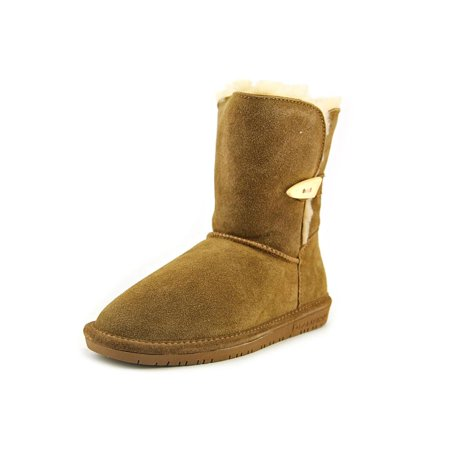 Bearpaw Abigail Youth   Round Toe Suede  Winter Boot