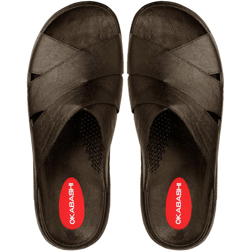 Okabashi Made in the USA Men's Milan Slide Sandal