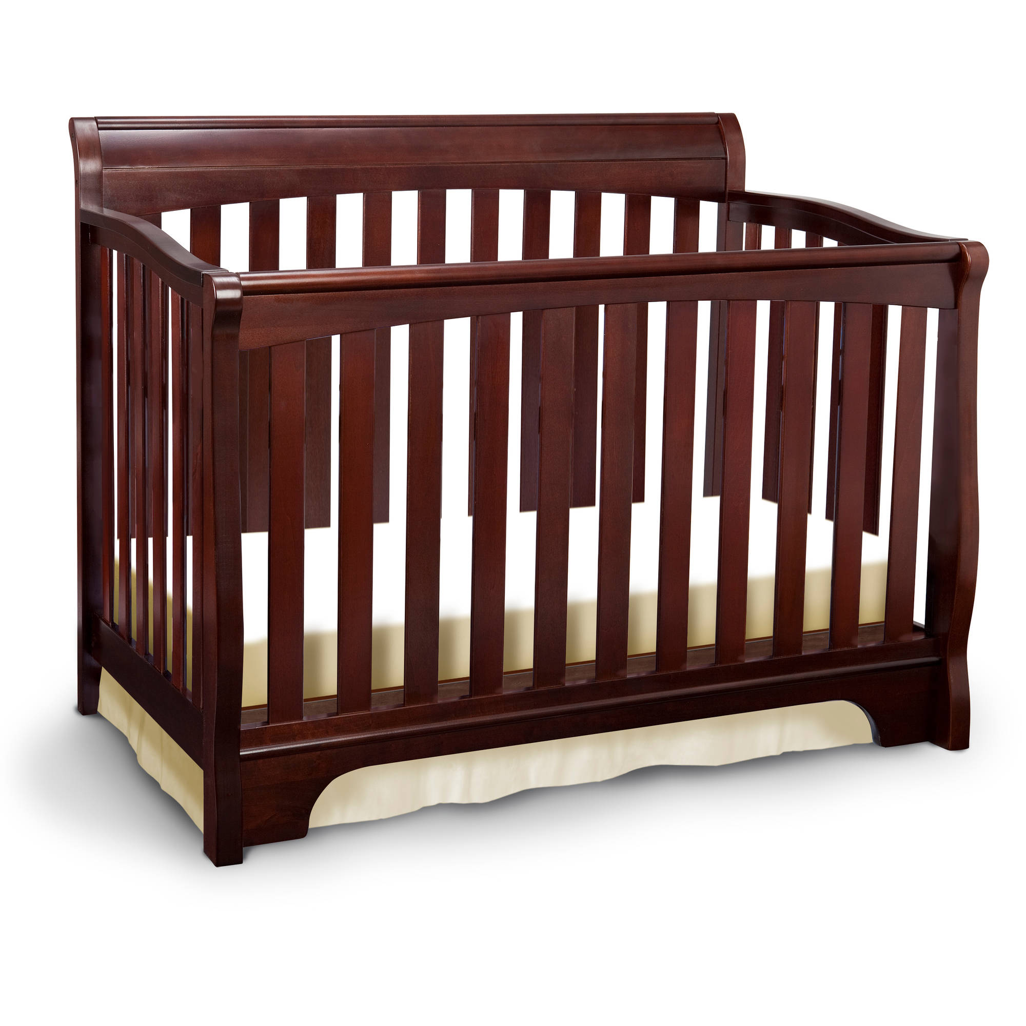 Delta Children Eclipse 4-in-1 Convertible Crib Cherry