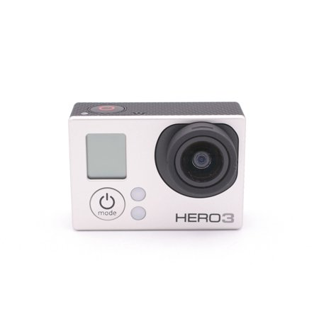 GoPro 3 Silver Edition 11.0 MP 1080p Action Camera Camcorder (Best Cheap Camcorder For Filmmaking)