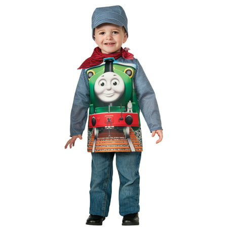 Thomas The Tank Deluxe Percy Toddler/Child Costume](Thomas The Engine Costume)