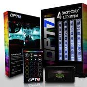 OPT7 Lighting Smart Light Bulb, Color LED, 1-Pack