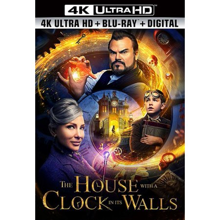 The House With a Clock in Its Walls (4K Ultra HD + Blu-ray + Digital (Video9 In Hindi A To Z Hd)