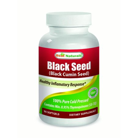 Best Naturals Black Cumin Seed Oil Softgels, 500mg, 90 (Best Black Seed Oils)
