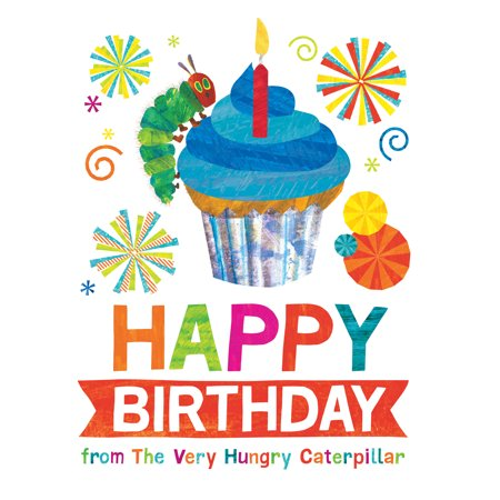 Happy Birthday from The Very Hungry Caterpillar - Hungry Little Caterpillar