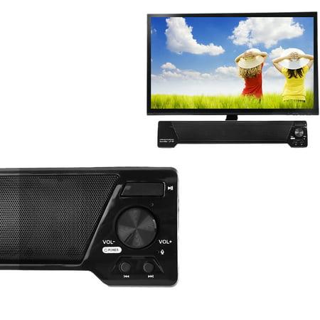 TV Speaker Home Theater Soundbar Bluetooth Wireless Sound Bar Speaker System Support FM TF Card