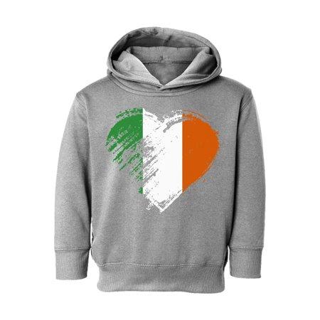 Awkward Styles St Paddys Day Toddler Hoodie Irish Flag Heart Hooded Sweatshirt for Boys Girls Proud Irish Irish Boy Sweatshirt