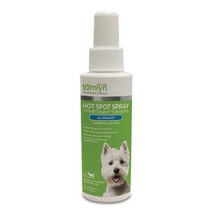 Hot Spot & Anti Itch Spray for Dogs Antiseptic Soothing for Irritated Pet Skin (1