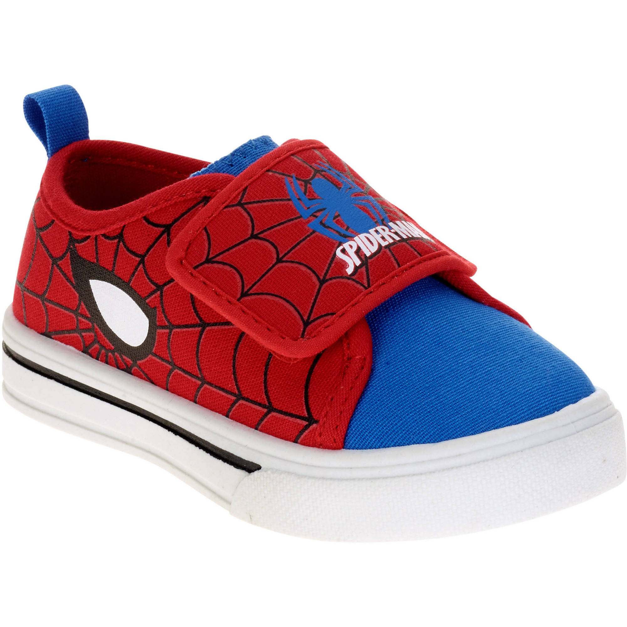 spider toddler boys canvas casual shoe walmart