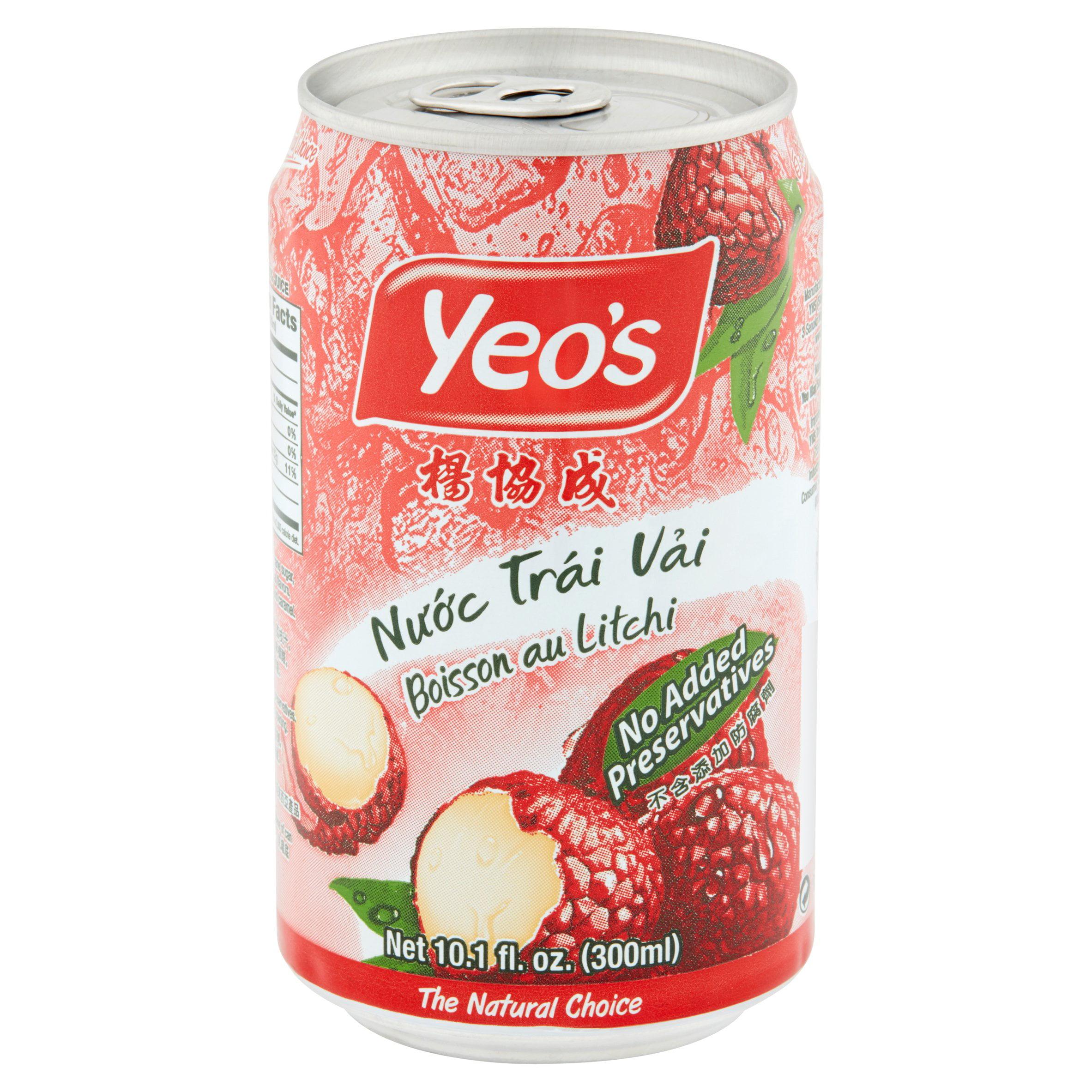 Yeo's Juice, Lychee, 10 1 Fl Oz, 1 Count