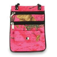 Pink RealTree Small Crossbody Bag