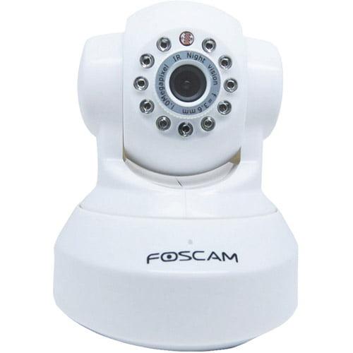 Foscam Fi8918ww Indoor Pan and Tilt Wireless IP Camera, White