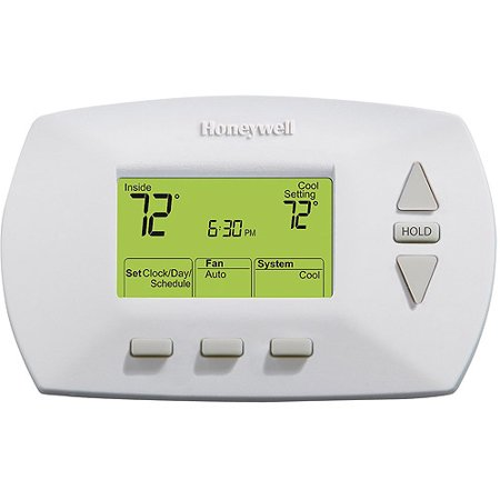 Honeywell 5 2 day electronic programmable thermostat for Th 450 termostato