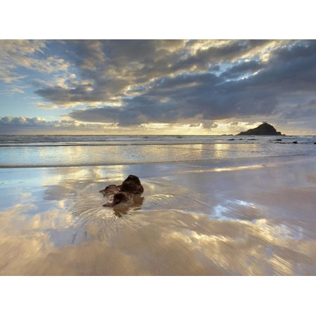 Koki Beach Near Hana, Maui, Hawaii, USA with Alau Island in the Distance Print Wall Art By Patrick (Koki Beach Maui)