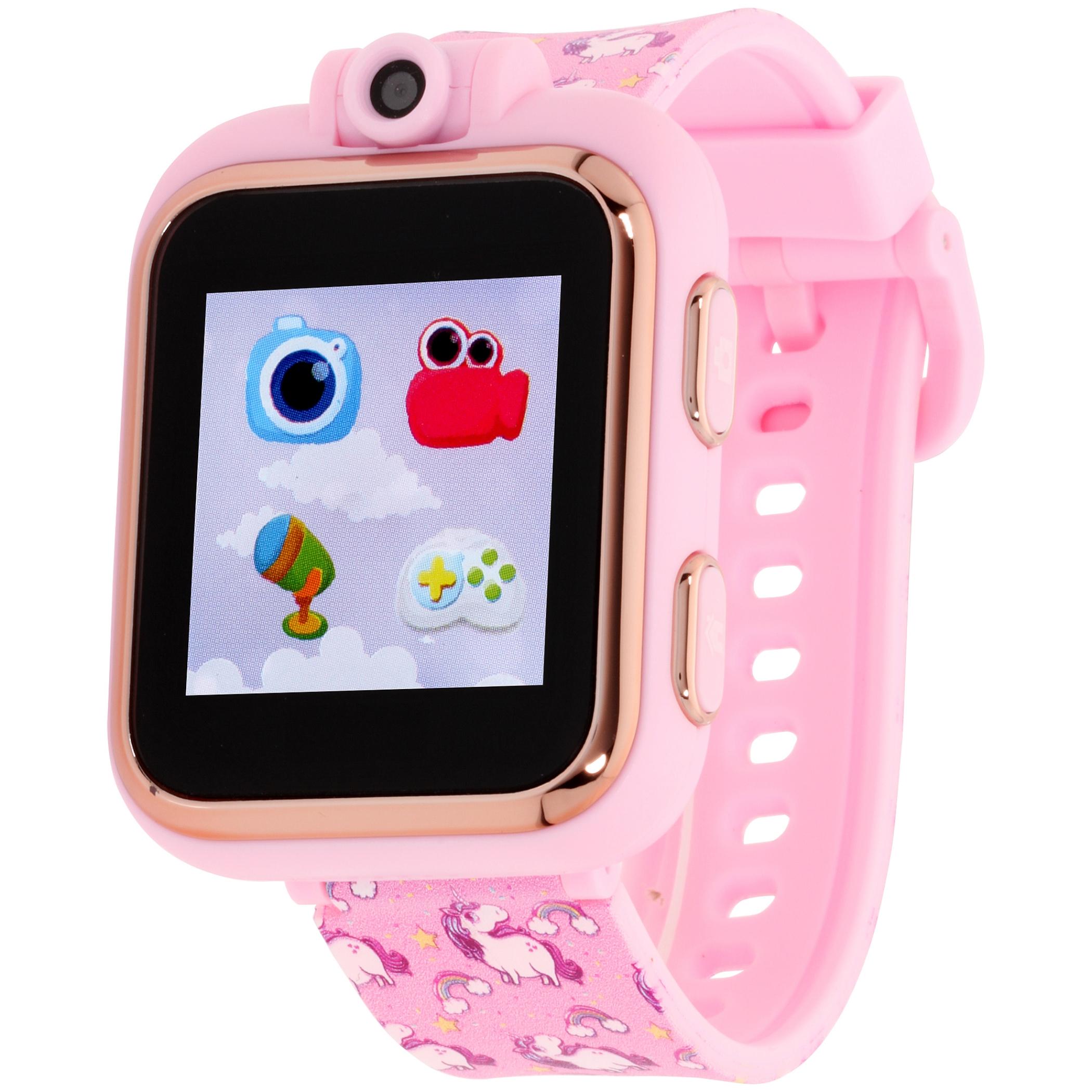 iTouch Playzoom Kids Smart Watch Blush Hearts Pattern