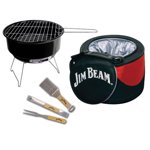 Jim Beam 5-Piece Cooler and Grill Set