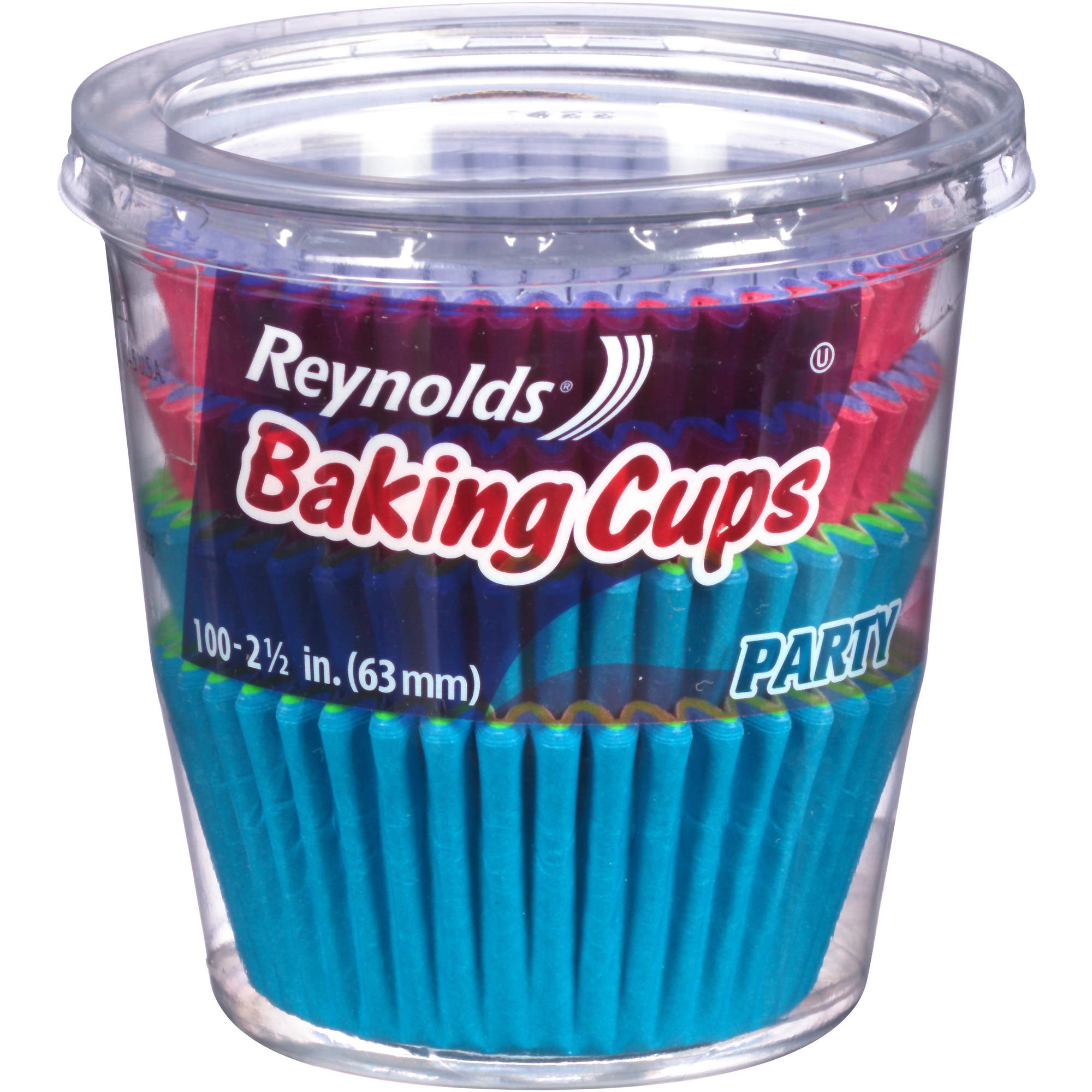 Reynolds® 2-1/2 in. Party Baking Cups 100 ct Container