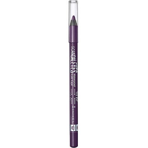Rimmel Scandaleyes Waterproof Kohl Kajal Eyeliner, Purple, 0.042 oz