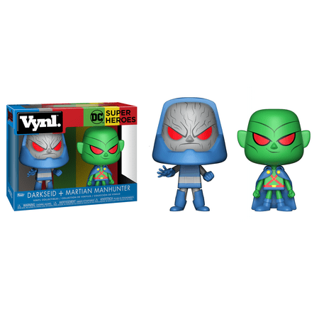 FUNKO VYNL: DC - Martian Manhunter & Darkseid 2PK