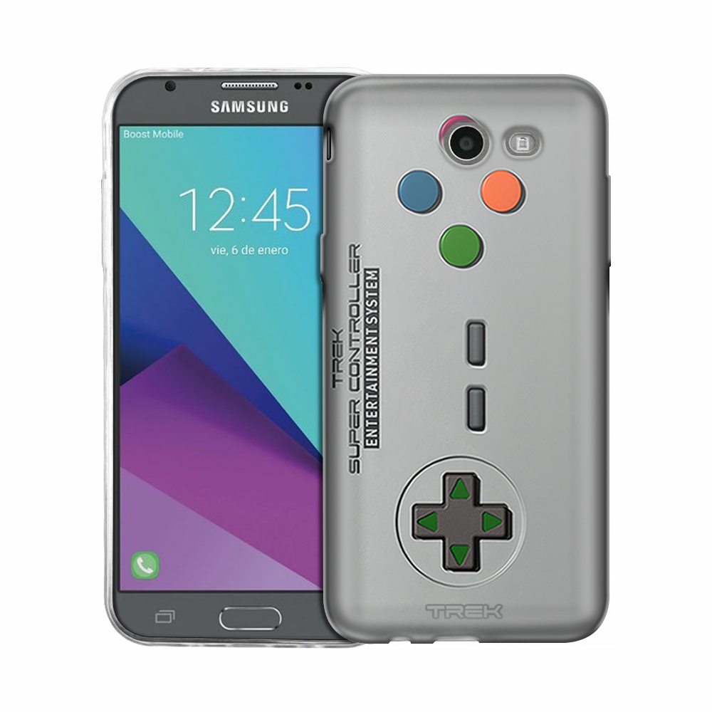 Samsung Galaxy J3 Prime Old School Retro TREK™ Super Controller Slim Case