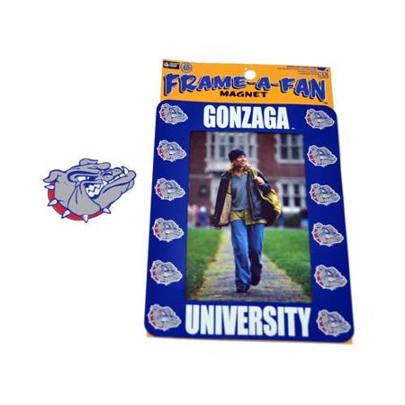 - Gonzaga Bulldogs Magnetic Picture Frame
