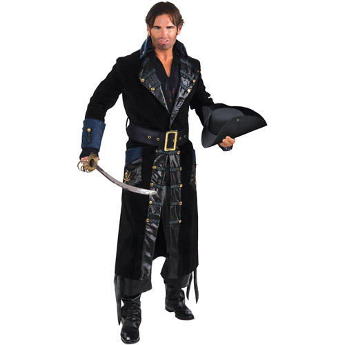Blackbeard Adult Halloween Costume - One Size 46-48