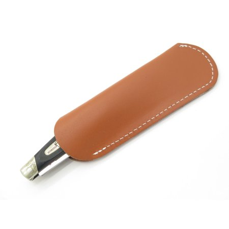 Pocket Knife Sheath - LOT 2 - LEATHER STOCKMAN TRAPPER FOLDING POCKET KNIFE SHEATH BUCK 301 CASE